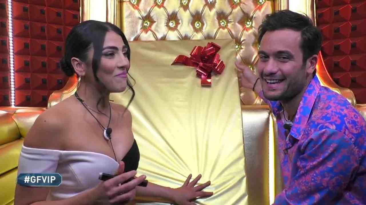 Giulia Salemi e Pierpaolo Pretelli, GF Vip 5