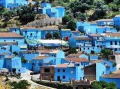 Città colorate - Júzcar - Spagna