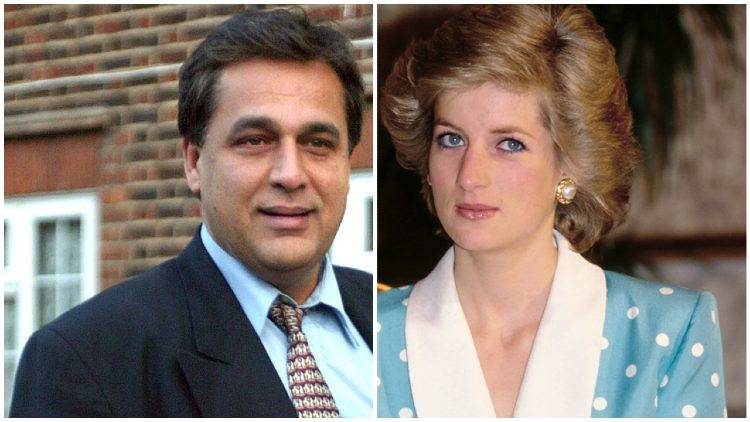 Lady Diana Hasnat Khan medico amante