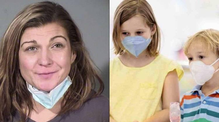 Mamma picchia figli positivi covid senza mascherina