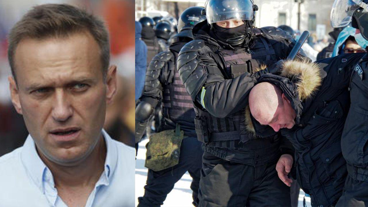 Russia, arresti tra i manifestanti