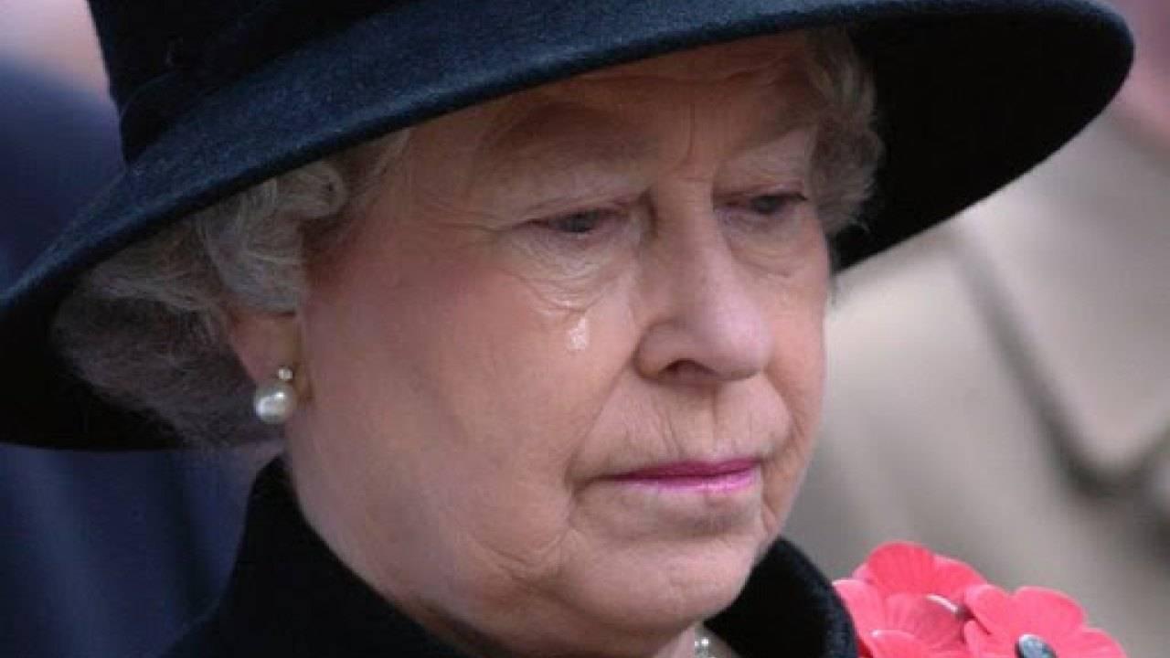 Regina elisabetta lutto