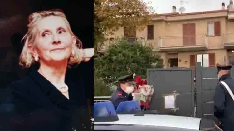 Rosina Carsetti uccisa a Montecassiano- indagine nella villetta