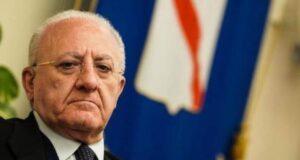 Vincenzo De Luca - Tar blocca ordinanza sulla chiusura delle scuole