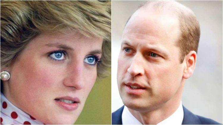 Principe William, il gesto segreto per Diana