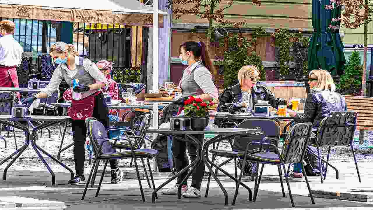 L'Italia riapre, sport e ristorazione all'aperto