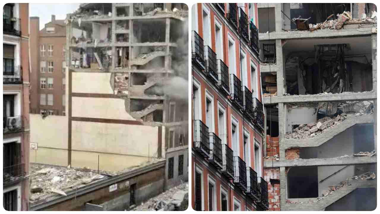 esplosione Madrid