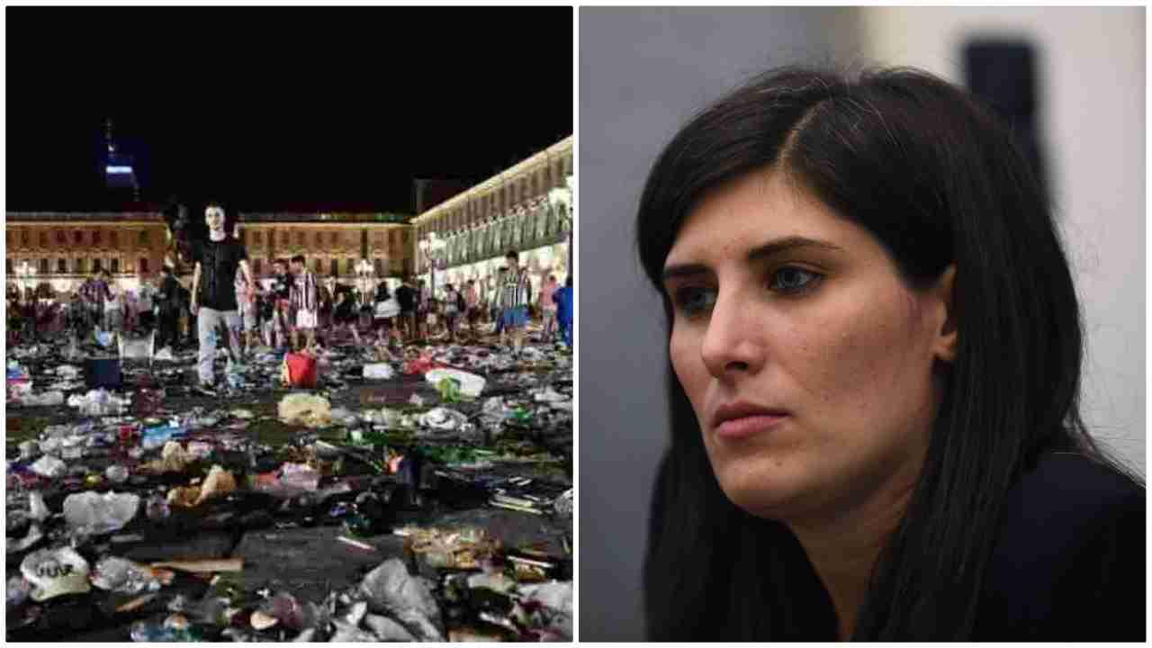 condannata Chiara Appendino fatti piazza San Carlo