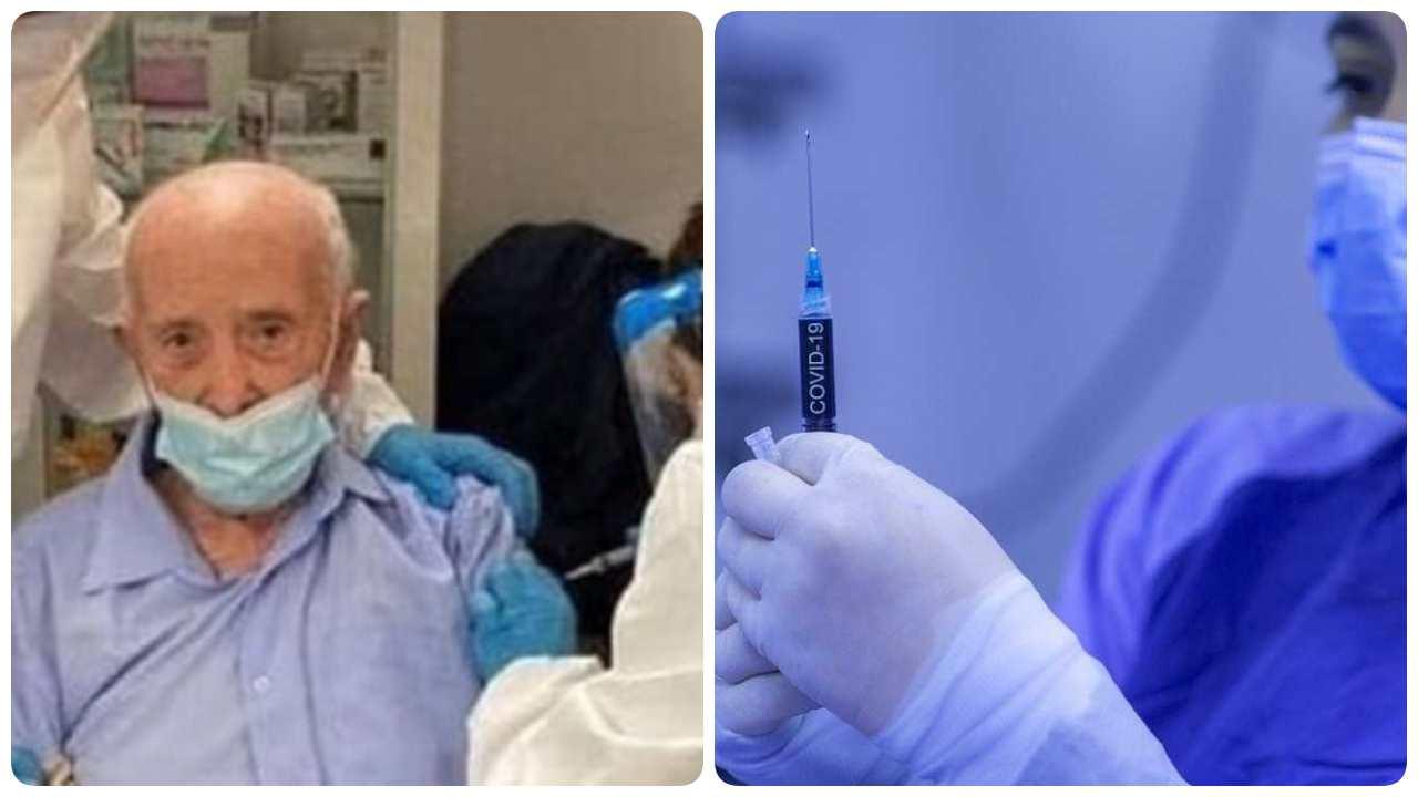 vaccinato 103 anni