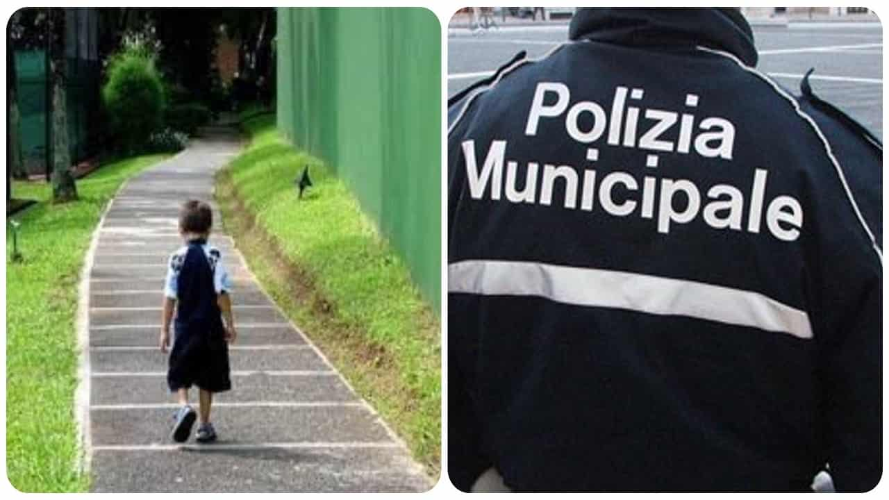 Bambino trovato in strada a Salerno,