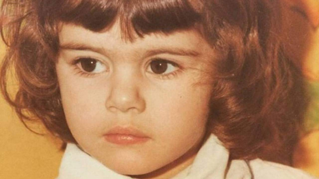 Bianca Guaccero da bambina piccola