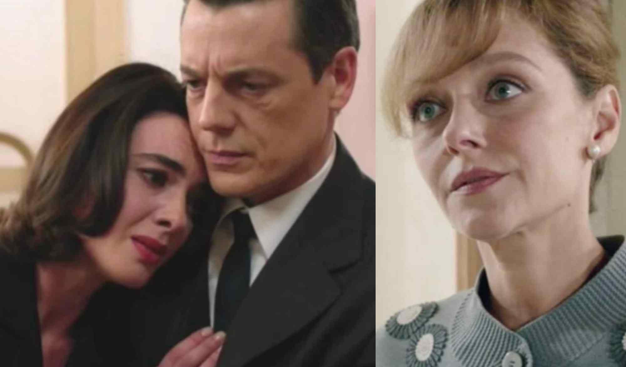 Clelia, Luciano e Silvia lasciano il Paradiso delle Signore