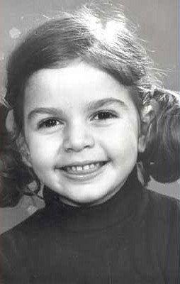 Cristina D'Avena da bambina piccola