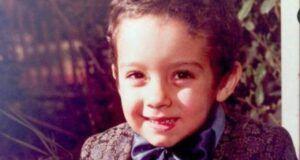 Fabrizio Moro da bambino piccolo