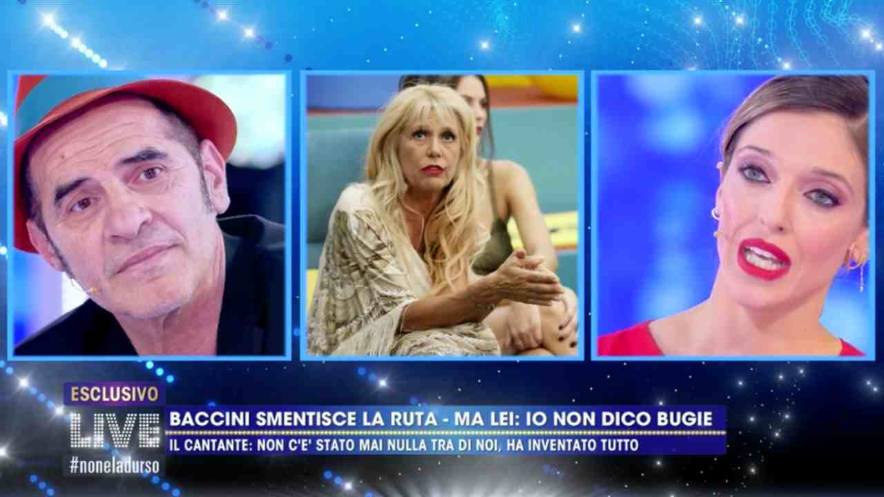 Francesco Baccini, Live - Non è la D'Urso