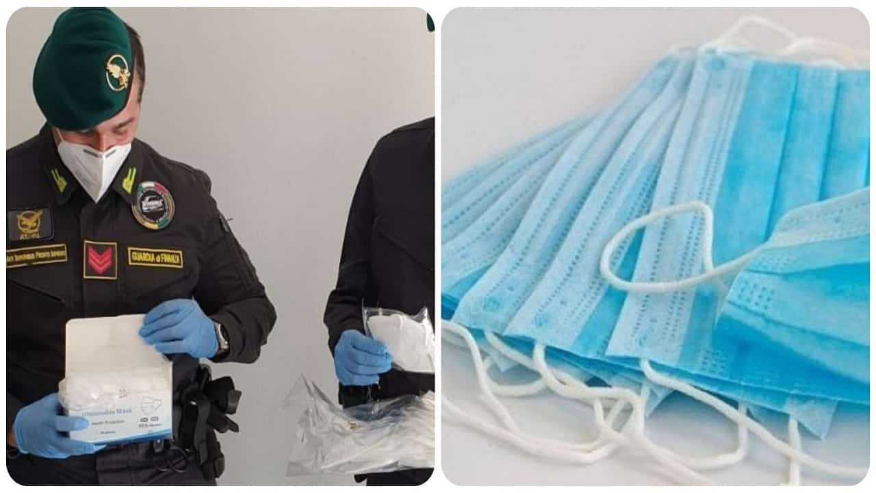 Guardia di finanza sequestra 70 milioni di euro per la commessa di mascherine.