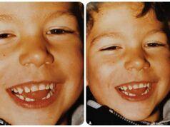Ignazio Moser da bambino piccolo