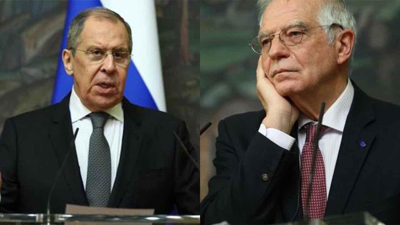 Sergei Lavrov e Joseph Borrell