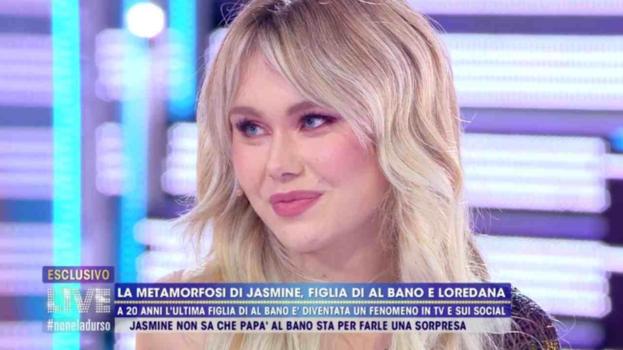 Jasmine Carrisi, Live - Non è la D'Urso