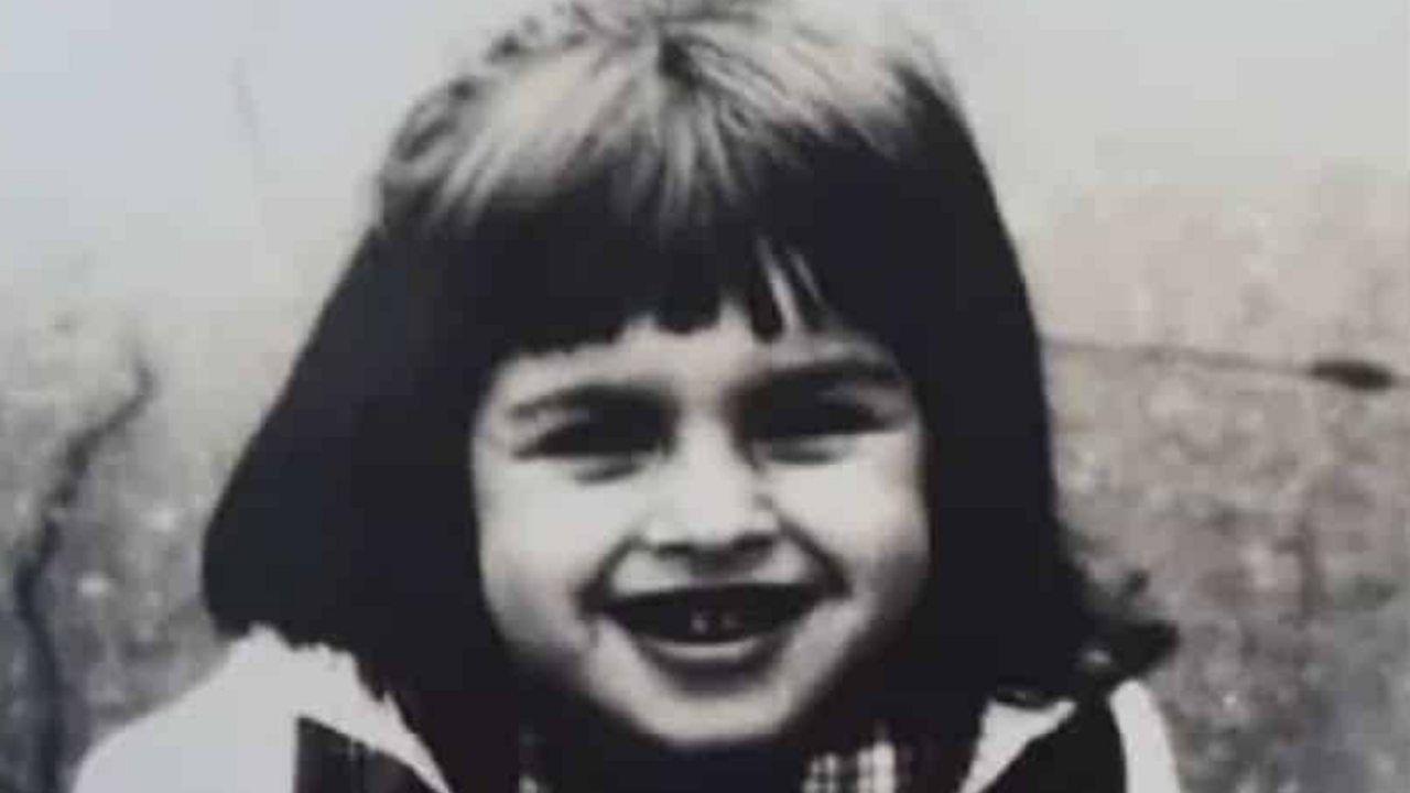 Kasia Smutniak da bambina piccola