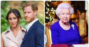 Duchi di Sussex e Regina Elisabetta
