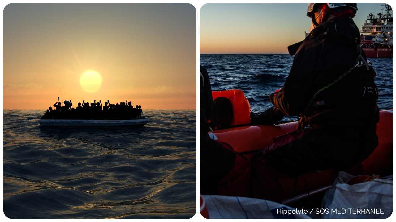 migranti salvataggio mare