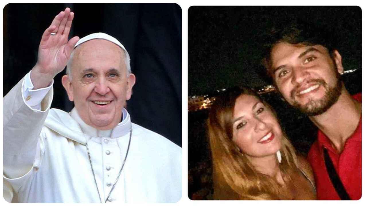 Papa telefona madre Eleonora Manta