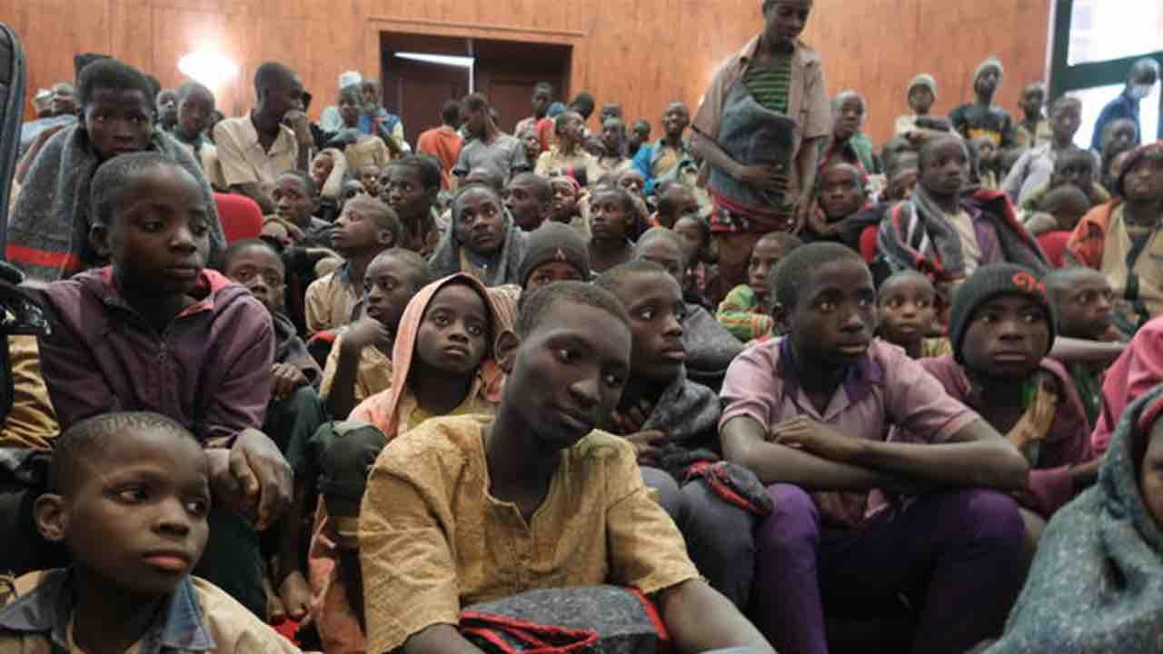 Kagara, Niger, Rapimento professori e studenti