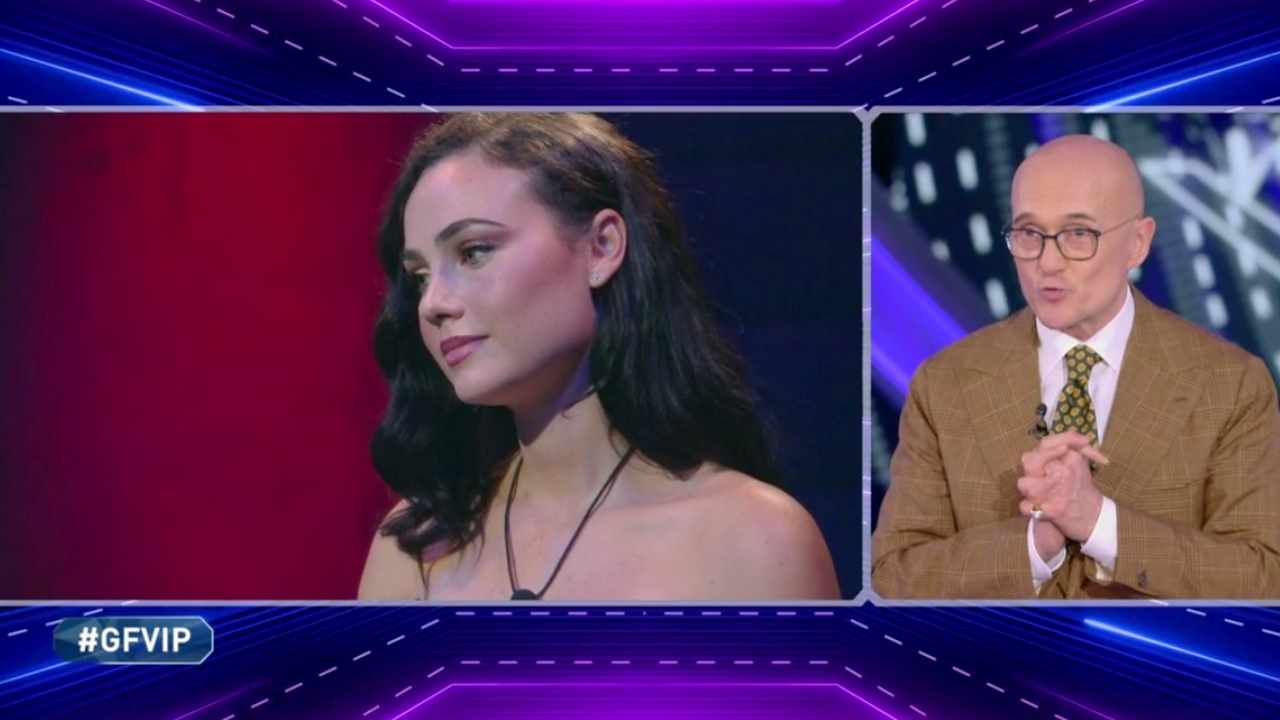 Rosalinda Cannavò e Alfonso Signorini, GF Vip 5