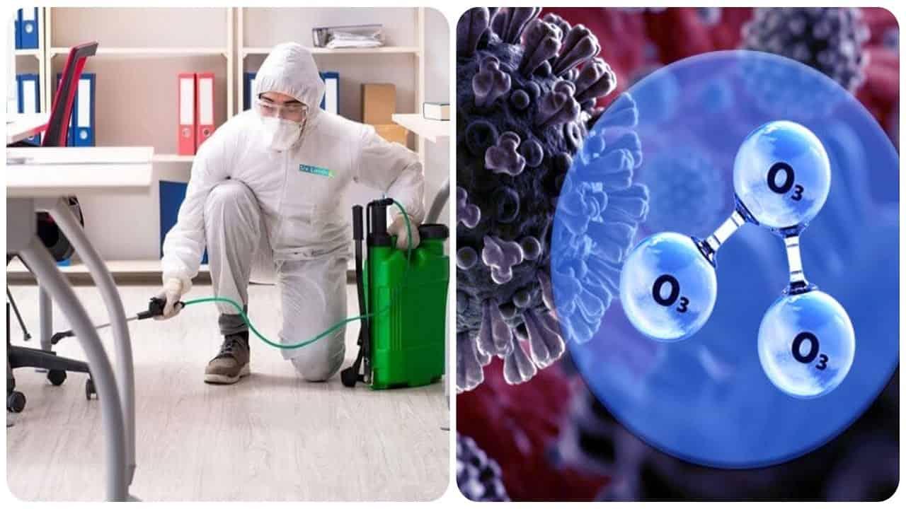 Secondo una ricerca israeliana, l'ozono elimina il coronavirus dalle superfici.