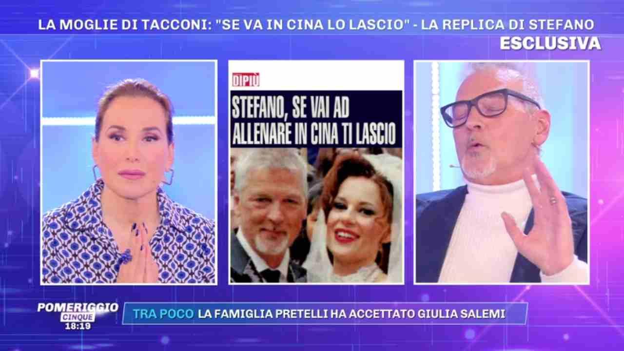 Stefano Tacconi, Pomeriggio Cinque
