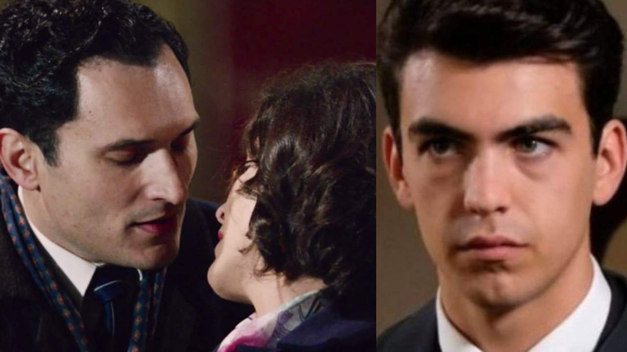 Beatrice e Vittorio si baciano