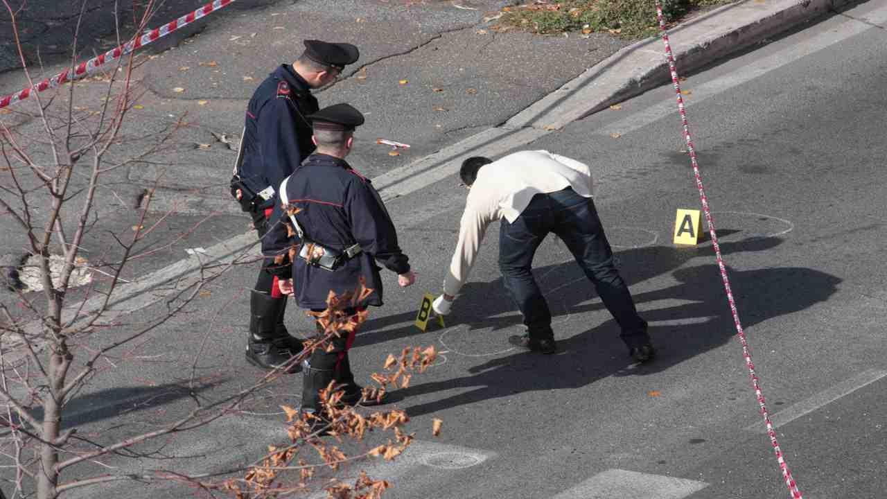 carabiniere uccide 50enne Biella