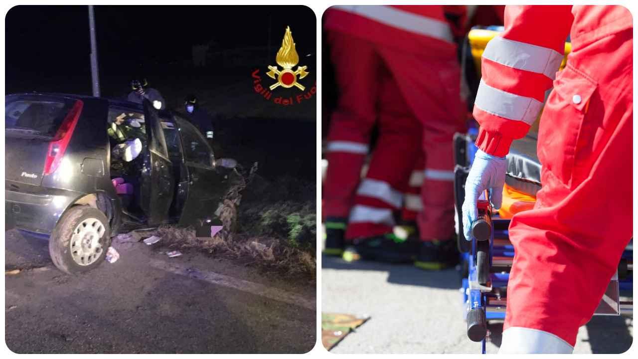 incidente auto vercelli