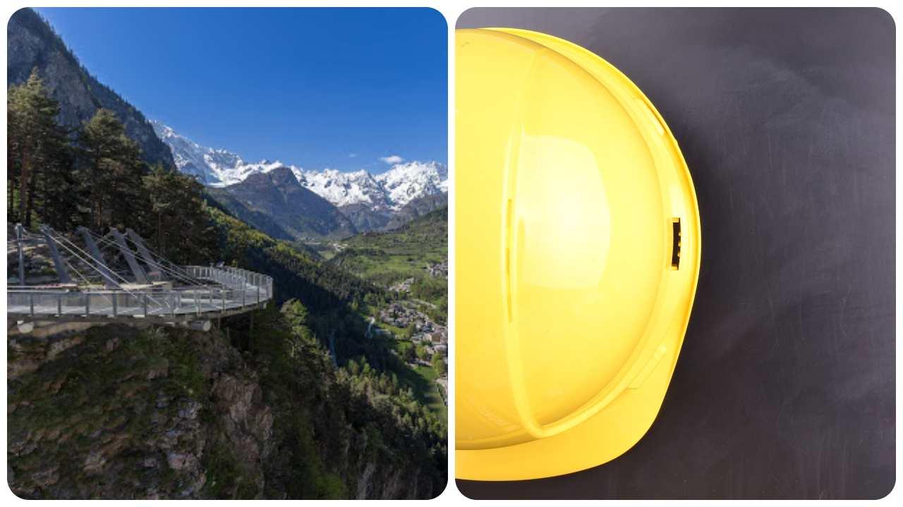 incidente lavoro Aosta