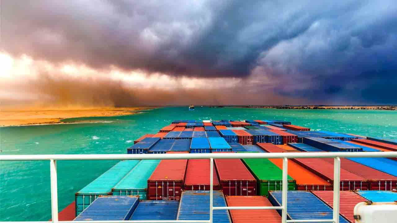 Blocco del canale di Suez