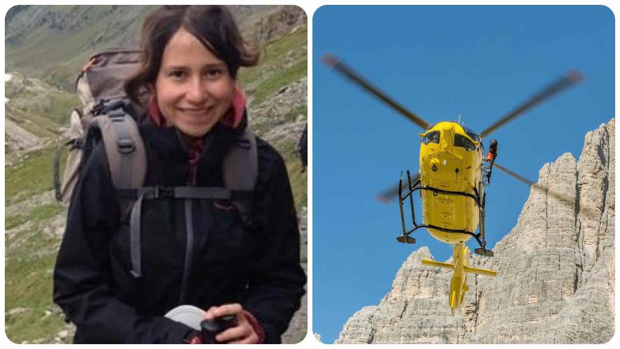 tragedia montagna, morta giovane Elisa Martina Enrile