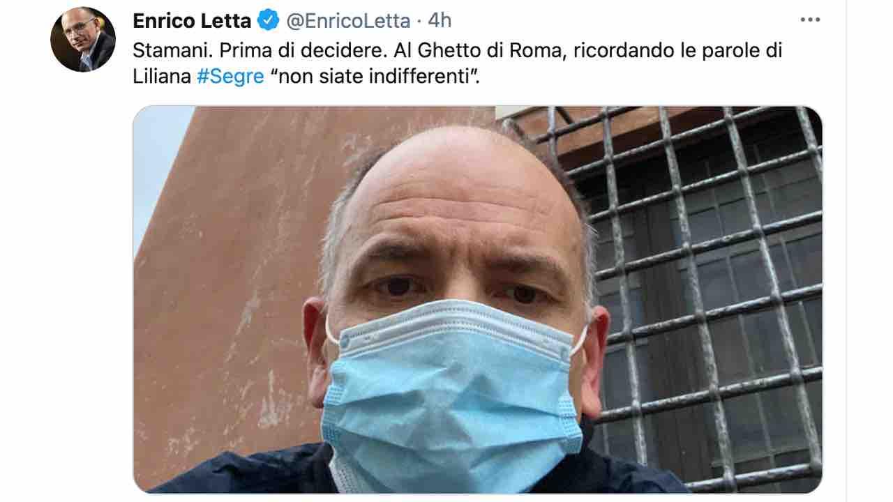 Enrico Letta si candida come leader del Pd