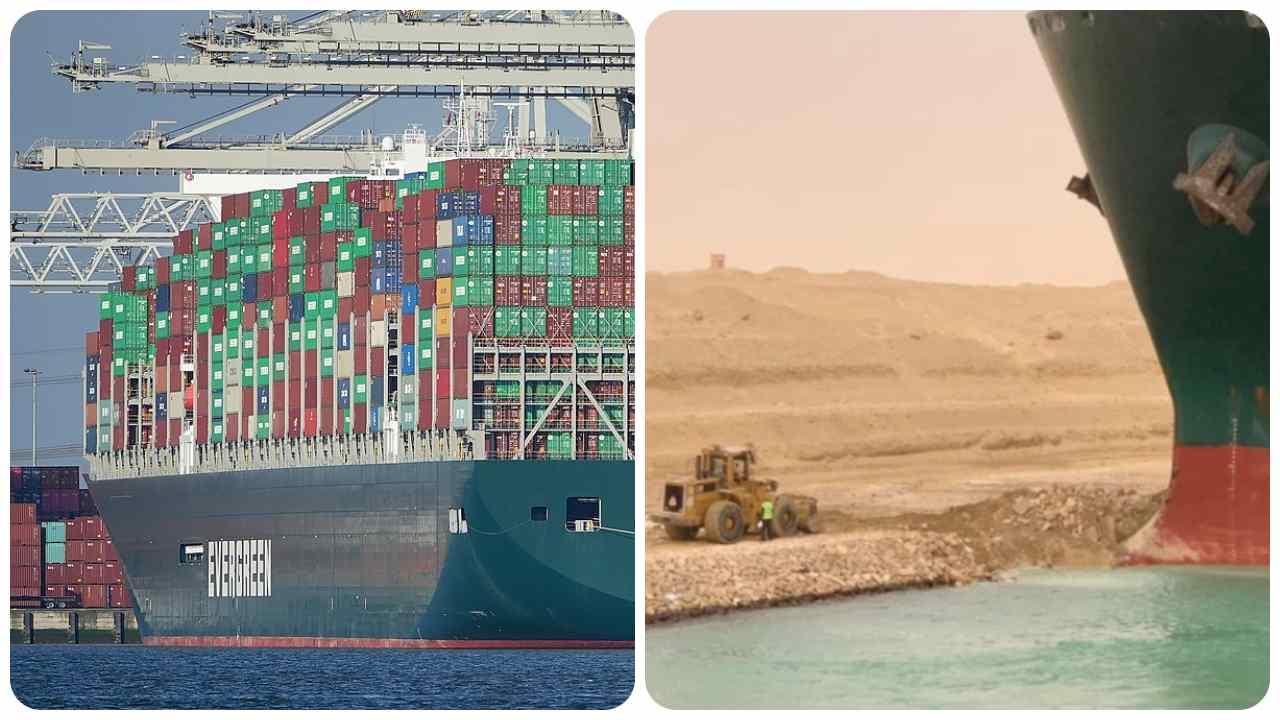 disincagliata Ever Given canale di Suez