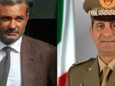 Fabrizio Curcio e Francesco Paolo Figliuolo