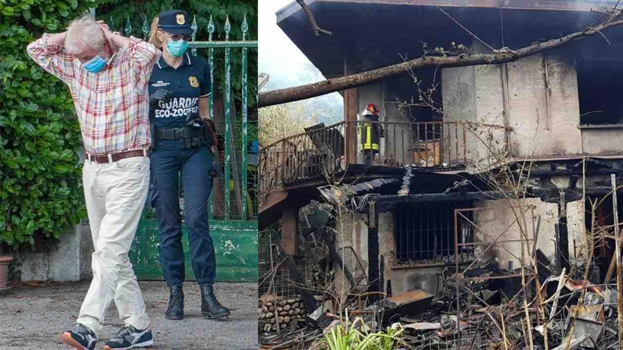 incendio Castagnola, Miglioranza ai domiciliari
