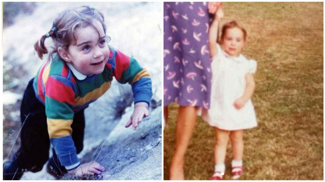 Kate Middleton da piccola
