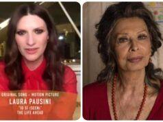 Golden Globe, vince Pausini ringrazia la Loren