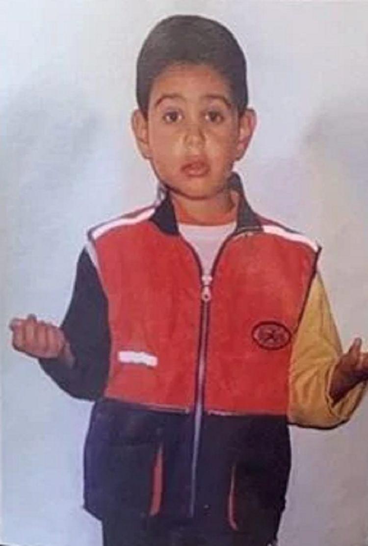 Mahmood da bambino piccolo