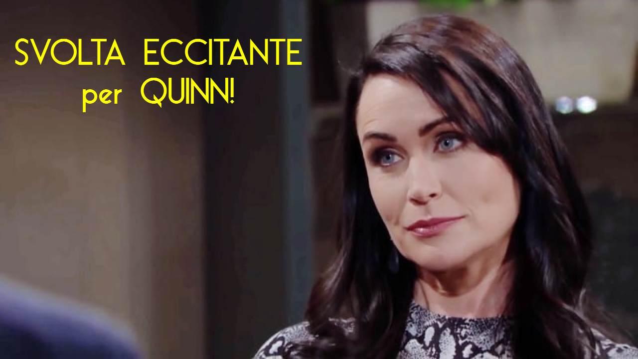 Beautiful anticipazioni Usa: svolta eccitante per Quinn