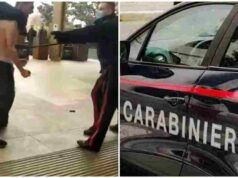 minacce carabinieri arrestati due adolescenti
