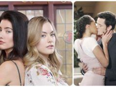 Beautiful anticipazioni 7-13 marzo Steffy-Hope-Thomas-Zoe