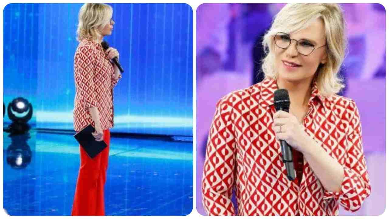 Amini 20, look Maria De Filippi 5' puntata