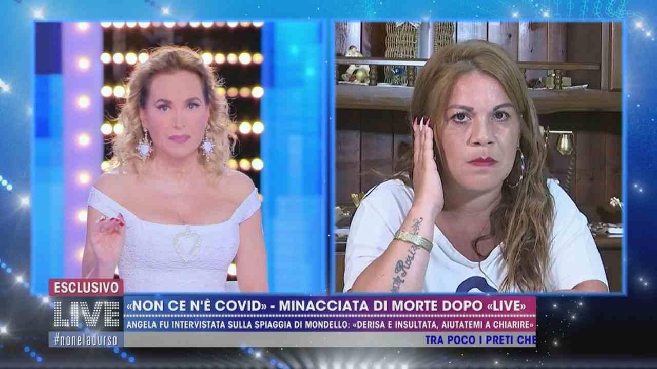Barbara D'Urso e Angela Chianello