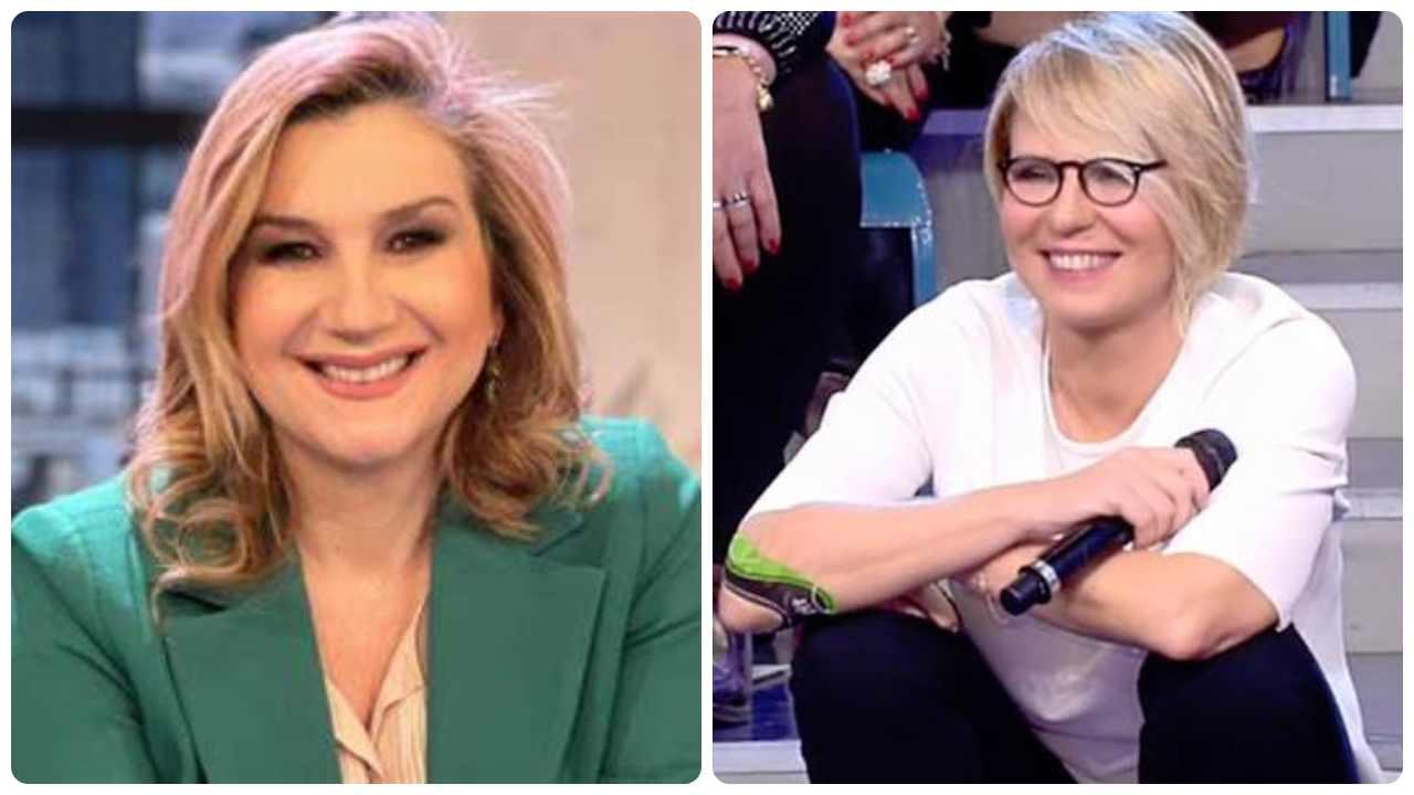 Serena Bortone e Maria De Filippi